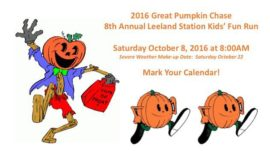 Pumpkin Chase – Save the Date!