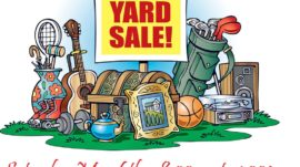 Spring Yard Sale – May 6th