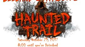 Leeland Station's Haunted Trail
