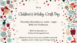 Children's Holiday Craft Day