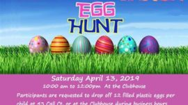 The Egg Hunt is Back!