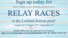 End of Season Pool Party – Relays